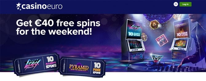 Free spins på CasinoEuro